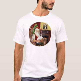 シャムサンタのチョコレートポイント Tシャツ
