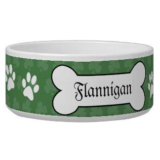シャムロックのアイルランドのクローバーによってカスタマイズ飼い犬の食糧ボール