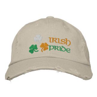シャムロックのアイルランド人のプライド 刺繍入りキャップ