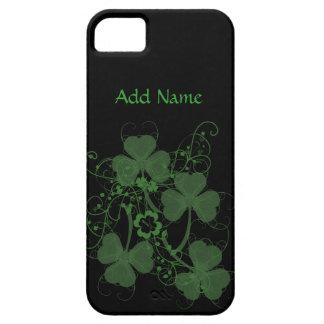 シャムロックの写実的でカスタムなiPhone 5つのケース iPhone SE/5/5s ケース