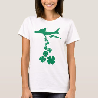 シャムロックの平和爆撃機のTシャツ Tシャツ