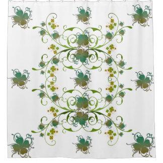シャムロックの芸術のシャワー・カーテン シャワーカーテン