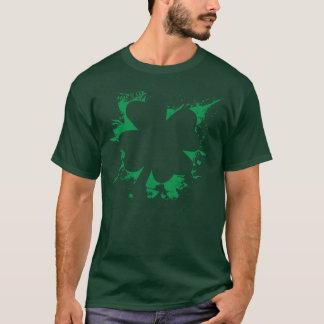 シャムロックの(ばちゃばちゃ)跳ねるのTシャツ Tシャツ