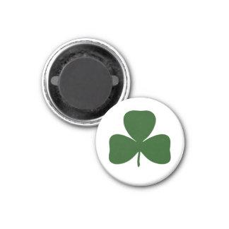 シャムロック、アイルランドのアイルランドのクローバー、St patricks day マグネット