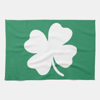 シャムロックSaint patricks dayアイルランド キッチンタオル