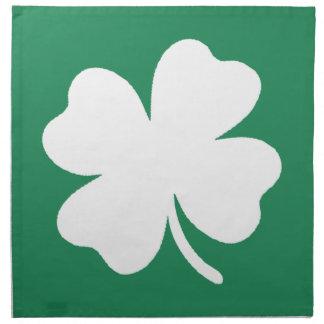 シャムロックSaint patricks dayアイルランド ナプキンクロス