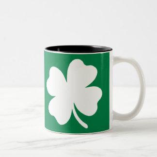 シャムロックSt patricks dayアイルランド ツートーンマグカップ