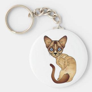 シャム猫のキーホルダー キーホルダー