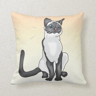 シャム猫の枕 クッション