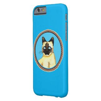 シャム猫の芸術のiPhone 6/6sの場合 Barely There iPhone 6 ケース