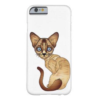 シャム猫のiPhone 6/6s、やっとそこに電話箱 Barely There iPhone 6 ケース
