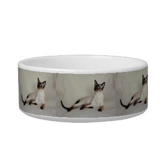 シャム猫のJazell猫ボールの皿 ボウル