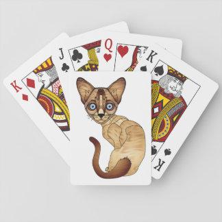 シャム猫カード トランプ