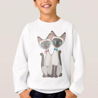 シャム猫 スウェットシャツ