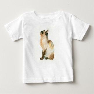 シャム猫 ベビーTシャツ
