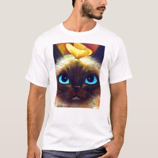 シャムCATのTシャツ Tシャツ