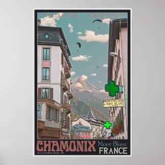 シャモニー- BonWの村 ポスター