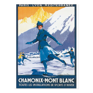 シャモニーMont Blanc ポストカード
