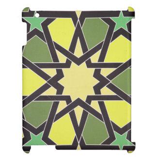 シャルジャのハートの星: クールなヴィンテージパターン iPadケース