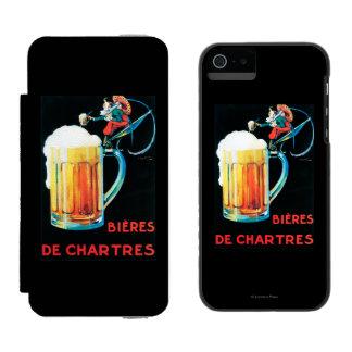 シャルトルの昇進ポスターのビール INCIPIO WATSON™ iPhone 5 財布 ケース