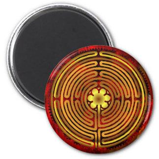 シャルトルの迷路の火の磁石 マグネット