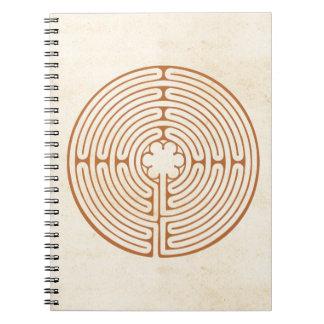 シャルトルの迷路 ノートブック