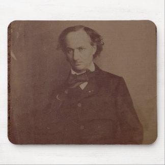 シャルル・ボードレール(1820-1867年)、フランスのな詩人、portr マウスパッド