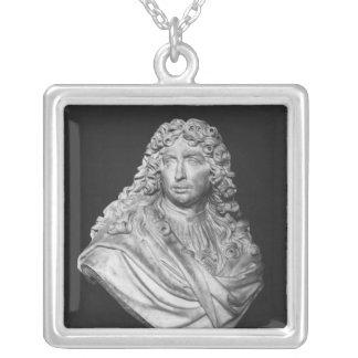 シャルル・ルブラン1679年のバスト シルバープレートネックレス
