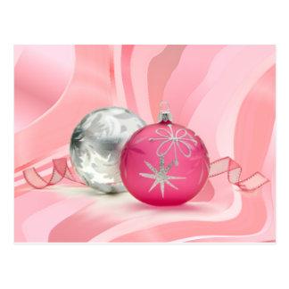 シャロンSHARPEによってピンクのピンクのクリスマスを持って下さい ポストカード