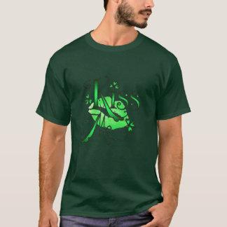 シャロンSHARPEによって私にシャムロック接吻して下さい Tシャツ