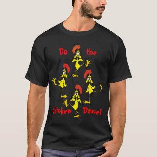 シャロンSHARPEによって鶏のダンスをして下さい Tシャツ