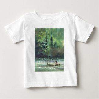 シャロンSHARPE著きらめくな水 ベビーTシャツ