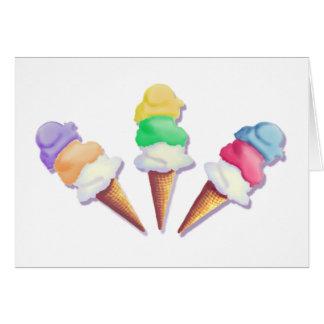 シャロンSHARPE著アイスクリームの味の多く カード