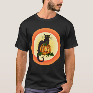 シャロンSHARPE著カボチャCAT Tシャツ