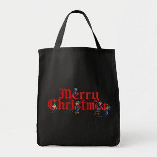 シャロンSHARPE著メリークリスマスの小妖精や小人2 トートバッグ