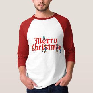 シャロンSHARPE著メリークリスマスの小妖精や小人 Tシャツ
