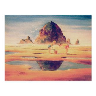 シャロンSHARPE著三角波の石 ポストカード