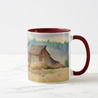 シャロンSHARPE著古い納屋 マグカップ