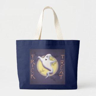 シャロンSHARPE著幽霊、月及びこうもり ラージトートバッグ