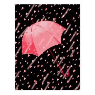 シャロンSHARPE著愛の傘のシャワー ポストカード