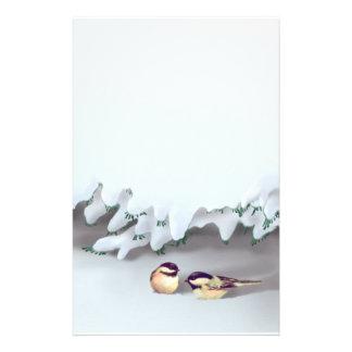 シャロンSHARPE著雪の鳥 便箋