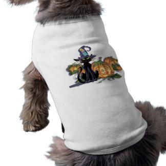 シャロンSHARPE著黒猫、帽子及びジャック ペット服