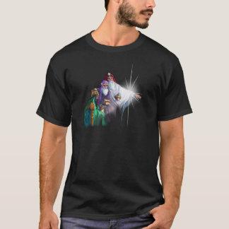 シャロンSHARPE著3人のWISEMENの星学者及び星 Tシャツ