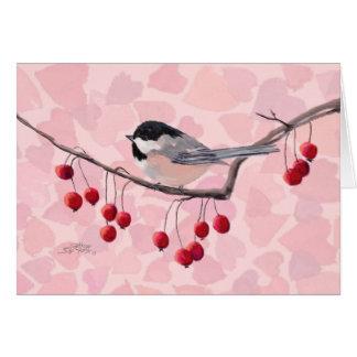シャロンSHARPE著《鳥》アメリカゴガラ及び赤い果実 カード