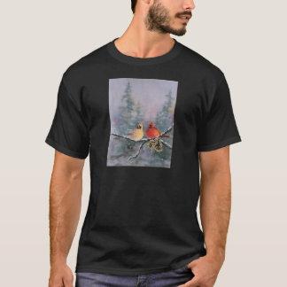 シャロンSHARPE著(鳥)ショウジョウコウカンチョウ Tシャツ