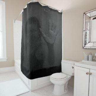 シャワー・カーテンに沢山与えている女の子 シャワーカーテン