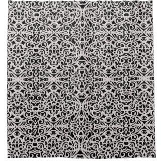 シャワー・カーテンのバロック式のスタイルのインスピレーション シャワーカーテン