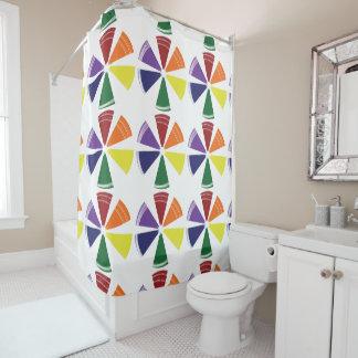 シャワー・カーテンのプライドのカラーホイール シャワーカーテン