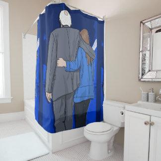 シャワー・カーテンのベルニーNジェーン愛 シャワーカーテン