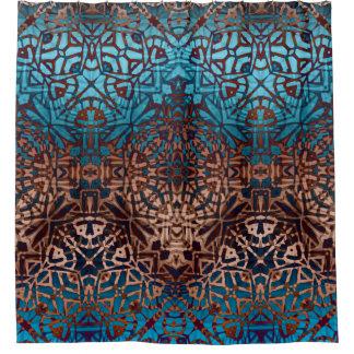 シャワー・カーテンの民族の種族パターン シャワーカーテン
